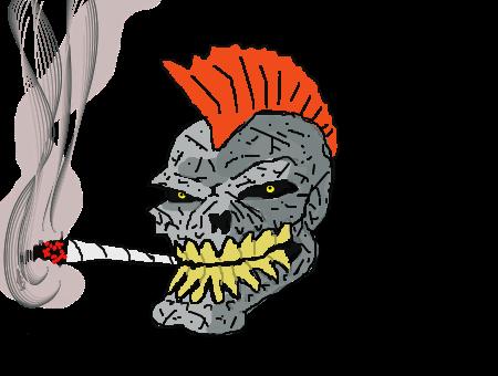 Forum: Draw a skull with a mohawk   DeviantArt