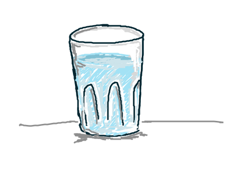 How To Draw A Cup Of Water 9
