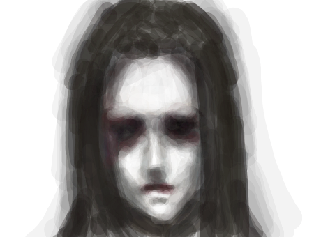 how to draw a realistic ghost