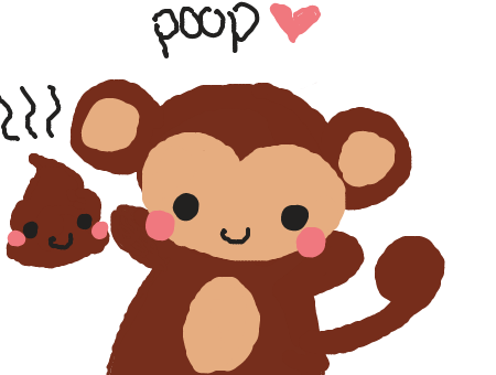 Forum Draw Monkey Throwing Poop Deviantart