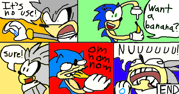Sonic Generations Comic 12: Defeating Silver by Sonjamsn40