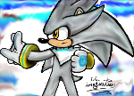 Silver The Hedgehog My First DA Muro by I-G-imagination