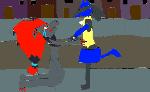 Lucario leaving Kara by Mewtwofangirl
